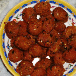 Pork Kheema Balls With Mint Leaves – Boneless