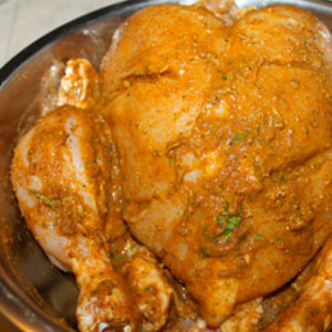 Spicy-Rayalaseema-chicken-marinated