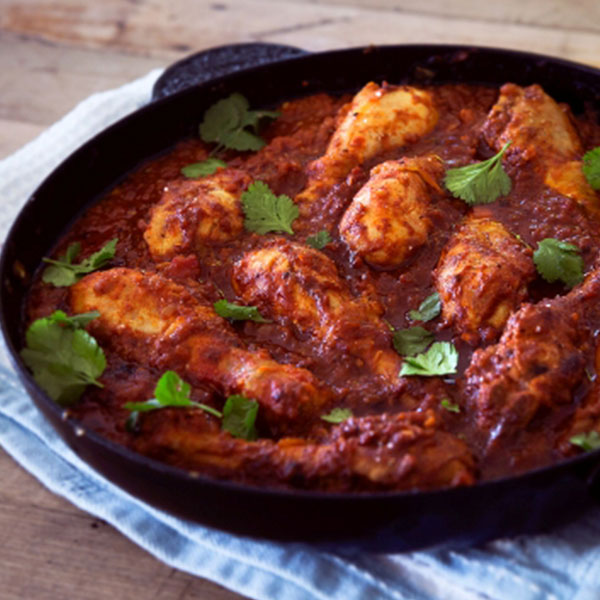 Spicy Country Chicken With Skin And Bones Mix