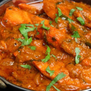 Chicken Curry ( spicy- broiler with bones)